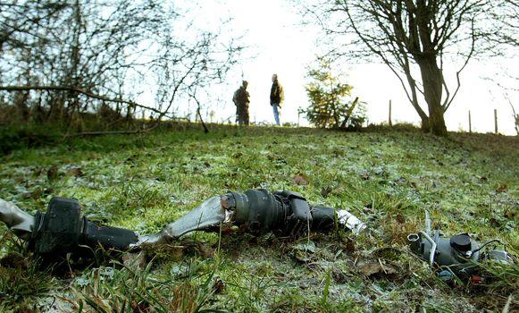 Bij een botsing van twee Belgische F-16's nabij Marche-en-Famenne in 2003 kwam één piloot om het leven.