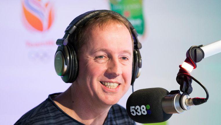 'Edwin Evers heeft ochtendradio vanaf het begin op de kaart gezet' Beeld anp