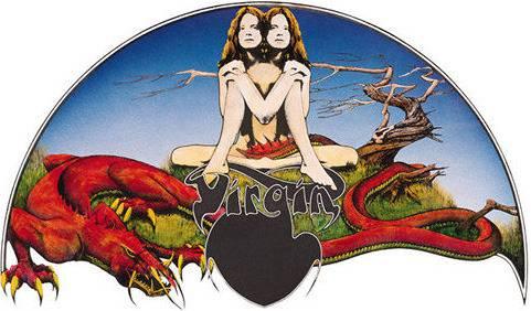 Het oorsronkelijke platenlabel van Virgin Records.