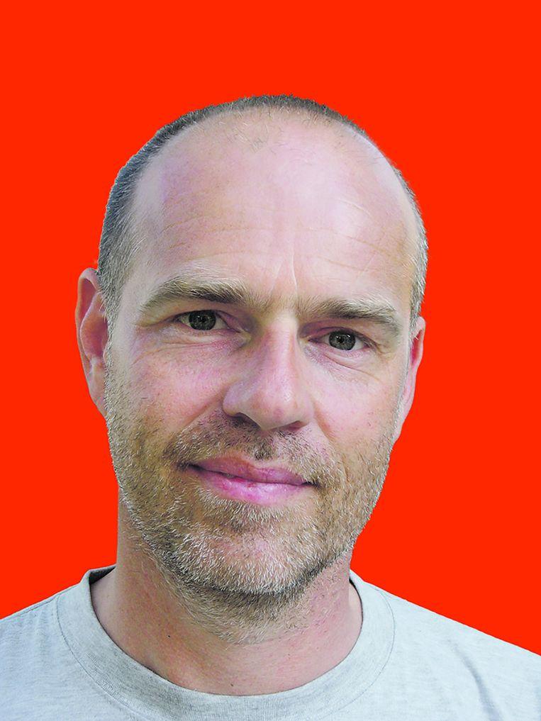 Jan van der Borg, econoom aan de universiteit van Venetie en gespecialiseerd in drukte Beeld Het Parool