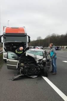 Vrachtwagenchauffeur doet emotionele oproep na ongeval: Oordeel niet direct