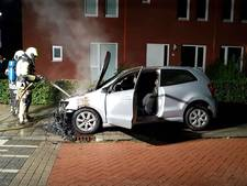Auto total loss door brand in Beuningen