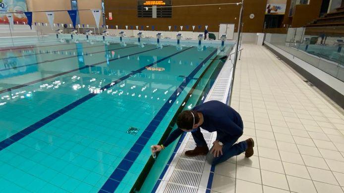 Het sportbad van Lago Rozebroeken blijft nog de hele maand dicht