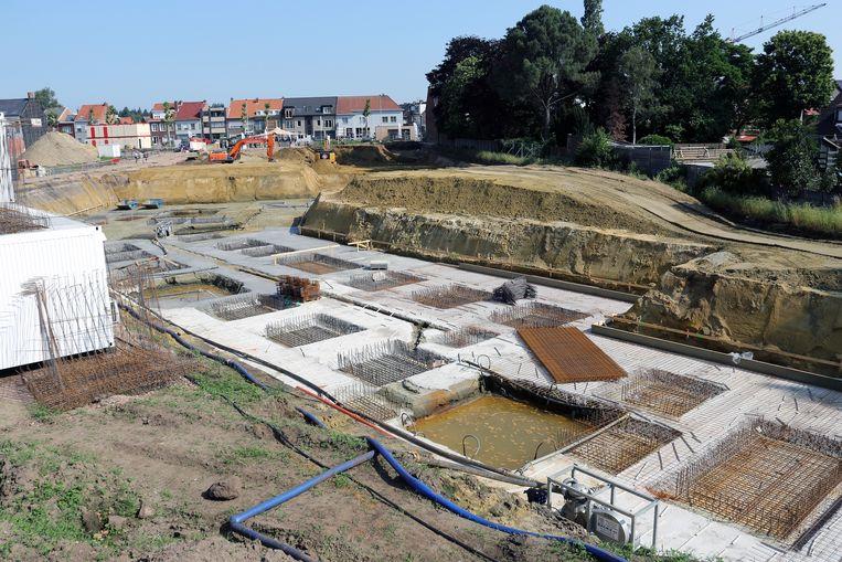 Bouwproject De Heern in Herentals zit momenteel in een beginstadium