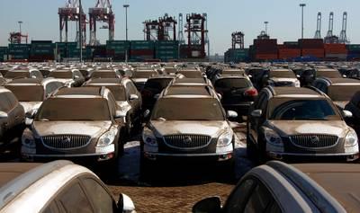 China gaat miljarden heffen op import van Amerikaanse auto's