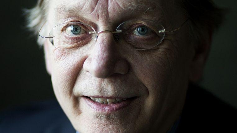 Portret van Harmen Verbruggen, decaan Economie VU Amsterdam. Beeld Rink Hof