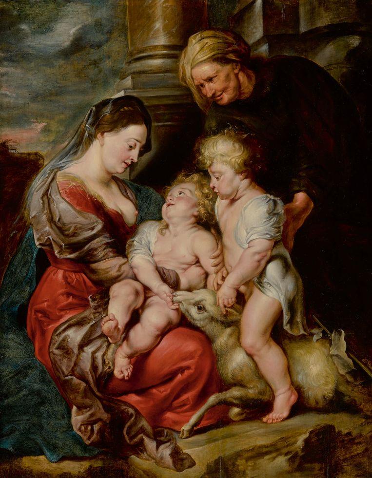 Het werk 'Maagd en Kind Jezus met de heiligen Elisabeth en Johannes de Doper' was meer dan zestig jaar in handen van dezelfde familie uit Manhattan, en werd al een zeventigtal jaar niet meer aan het publiek getoond.
