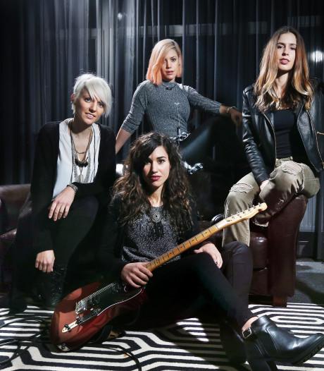 Haagse rockchicks Luminize in voorprogramma van Nena