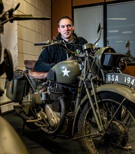 Unieke 'schuurvondst' van opa Henk in Terwolde te koop: 'We hadden het nooit over die motoren'