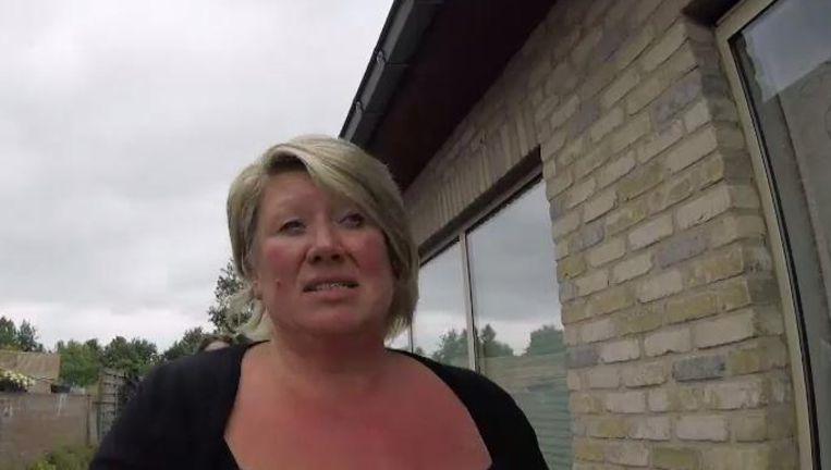 De moeder van Lisa-Marie, het meisje dat het leven liet nadat ze in bad verdronk.
