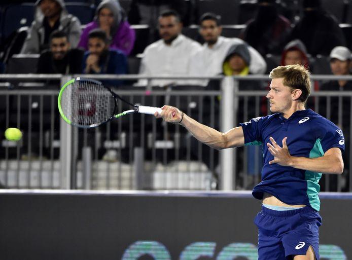 Tombeurr de Lucas Pouille, David Goffin affrontera Daniil Medvedev en demi-finale de la Diriyah Tennis Cup.