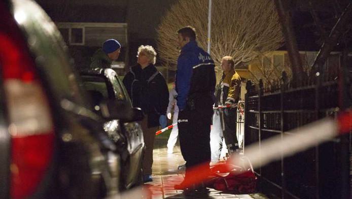 Onderzoek op de plek waar op oudjaarsavond een 51-jarige man bij een vuurwerkincident is overleden