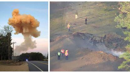 """Trucker rijdt brandende vrachtwagen zo ver mogelijk weg van huizen, en dan volgt enorme knal: """"Hij is een held"""""""