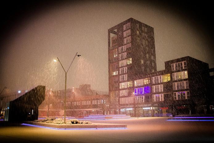 Winters tafereel in Roosendaal.