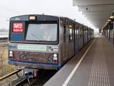 De laatste rit van de Zilvermeeuw metro in 2015