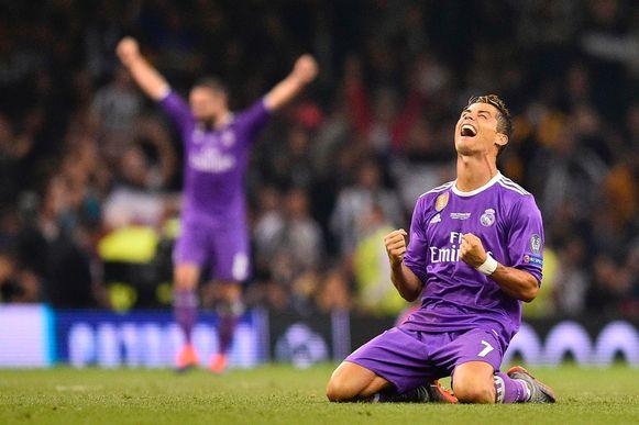 Cristiano Ronaldo was weergaloos in de Champions League-finale van 2017 tegen Juventus.