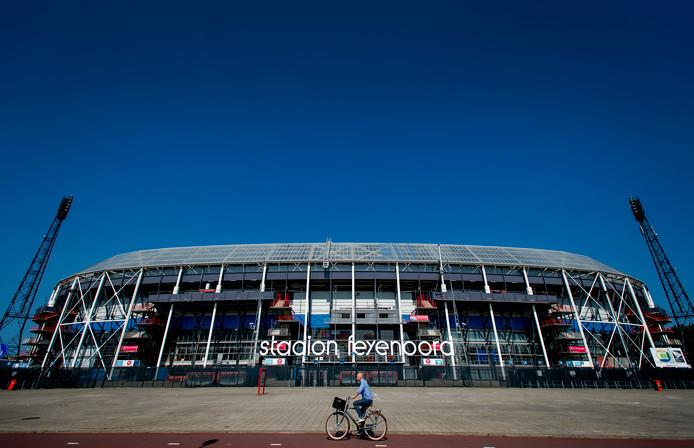 Het vertrouwde stadion De Kuip. Deze week wordt over de toekomst van de monumentale voetbaltempel besloten.