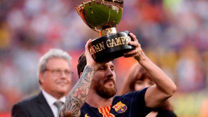 Messi 'man van de match' in Trofeo Joan Gamper, ook Vermaelen scoort bijna knap tegen Boca Juniors