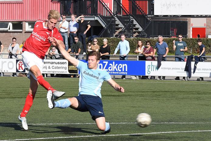 Jordie van der Laan drukt af namens JVC Cuijk.