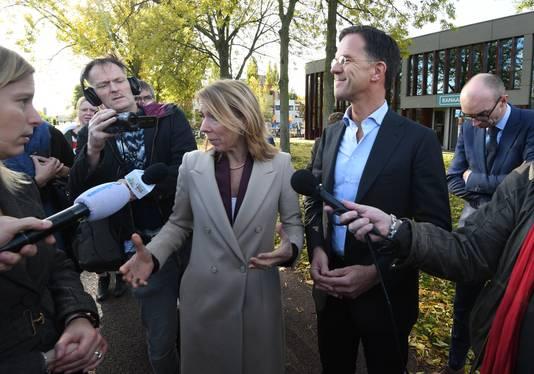 Premier Rutte bekeek onlangs samen met minister Van Veldhoven nieuwbouwplannen in Utrecht