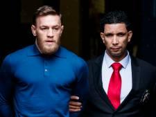 UFC houdt McGregor hand boven het hoofd na gooien steekwagen