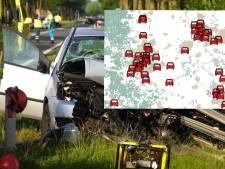 Verkeer en ongelukken, dat raakt ons allemaal: lezers melden massaal onveilige situaties