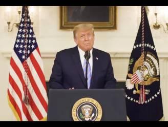 De bocht van Trump: hij las de autocue af, maar snapt nog altijd niet wat het probleem is