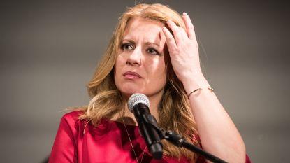Advocate Caputova ruim op kop bij Slowaakse presidentsverkiezingen
