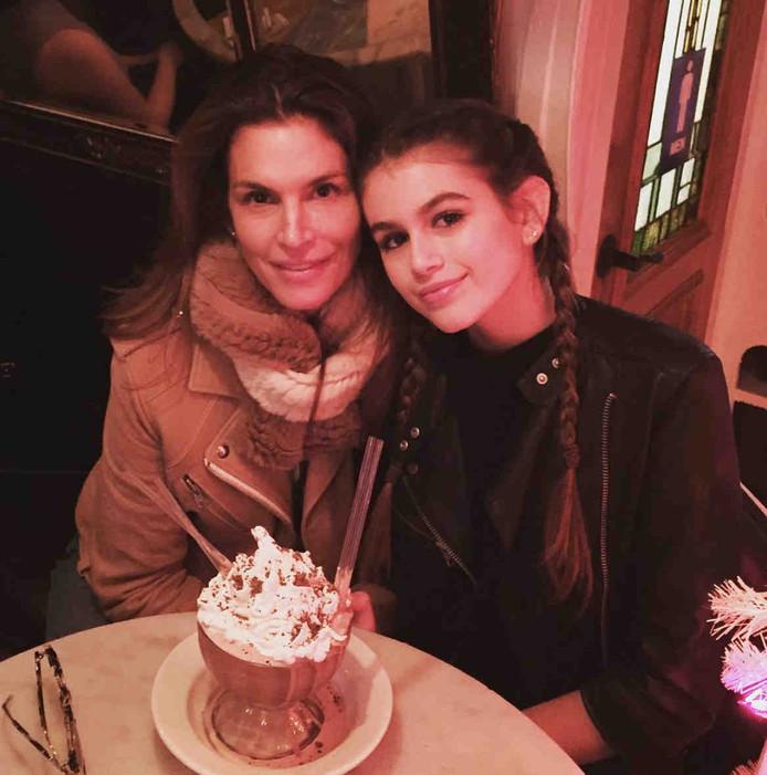 Cindy en dochter Kaia.