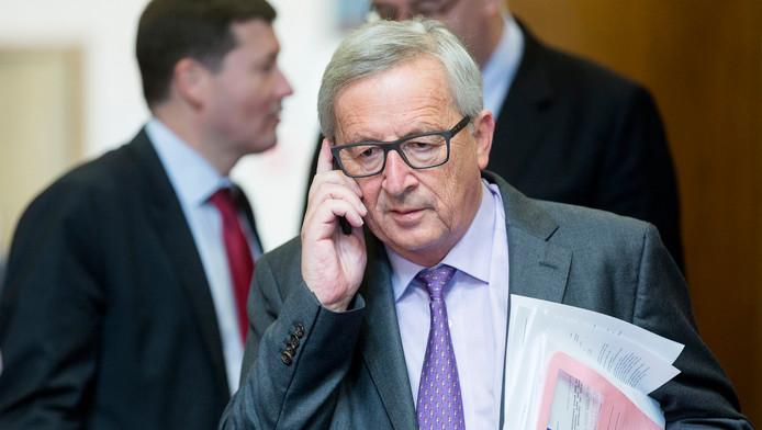 Commissievoorzitter Jean-Claude Juncker van de Europese Unie.