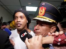 Ronaldinho et son frère arrêtés au Paraguay pour usage de faux passeports