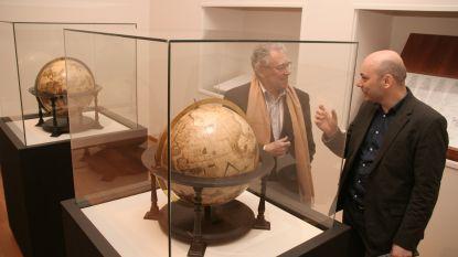 Afrika-kenner Peter Verlinden in gesprek met drie missionarissen in Mercatormuseum