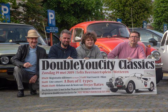 Klaar voor de zesde editie va Double You City Classics in Wetteren.