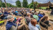 1.200 feestvierders op Bos! festival genieten van de rust