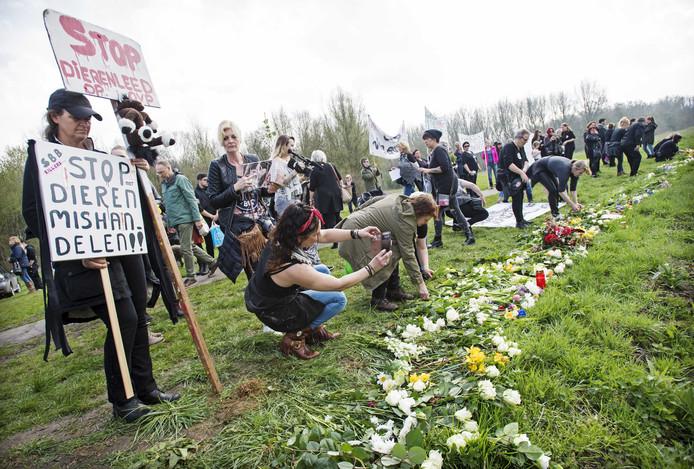 De gemoederen liepen afgelopen winter bij tijd en wijle aardig op. Meermaals werd in de Oostvaardersplassen of bij het provinciehuis in Lelystad een demonstratie gehouden.