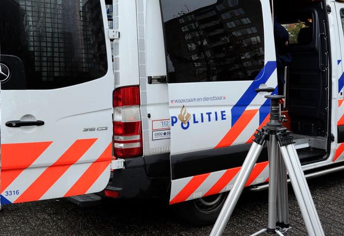Politie-onderzoek. (Archieffoto).