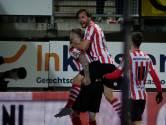Hattrick Veldwijk houdt Sparta aan kop