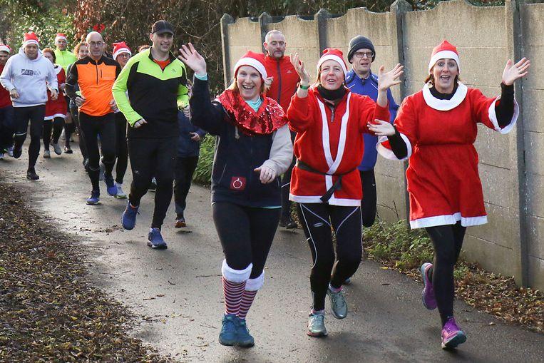 Christmas Run van Chiro Sonneveld was opnieuw een succes.