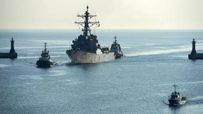 Voor het eerst in dertig jaar Amerikaanse marineschepen in de Barentszzee