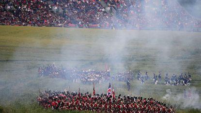 Waterloo 1815 vervangt te slechte commentator