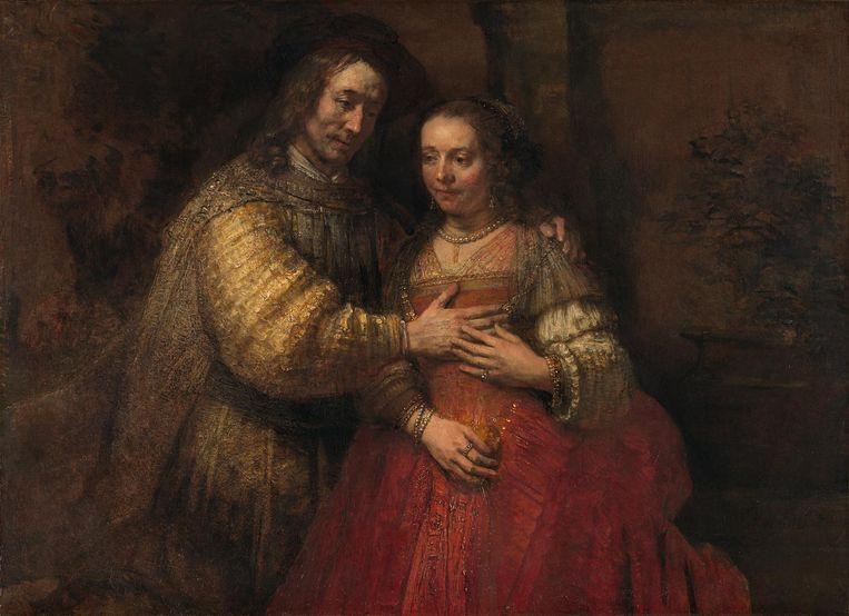 Het Joodse bruidje Beeld Rijksmuseum