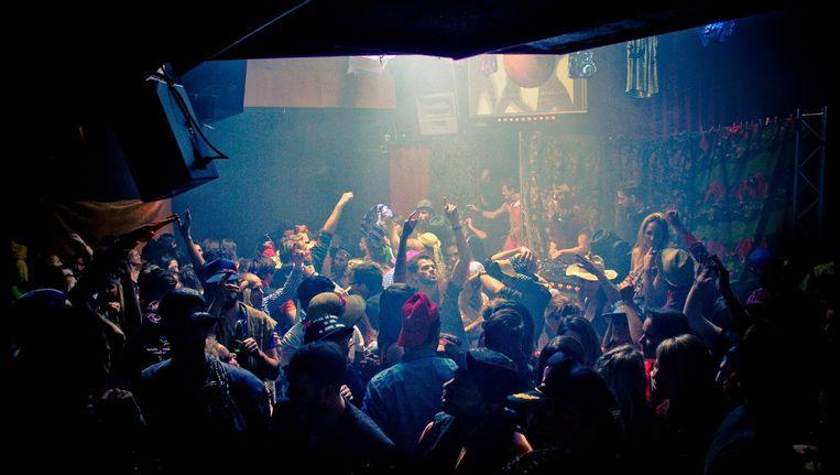 Groot verkleedfestijn in Chicago Social Club Beeld Facebook Klerenbende