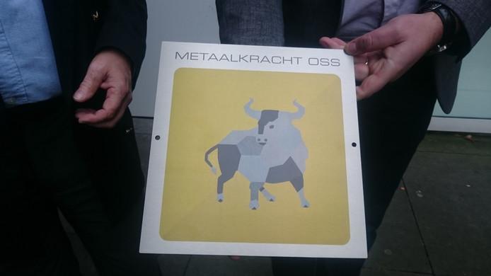 De schildjes van MetaalKracht Oss.
