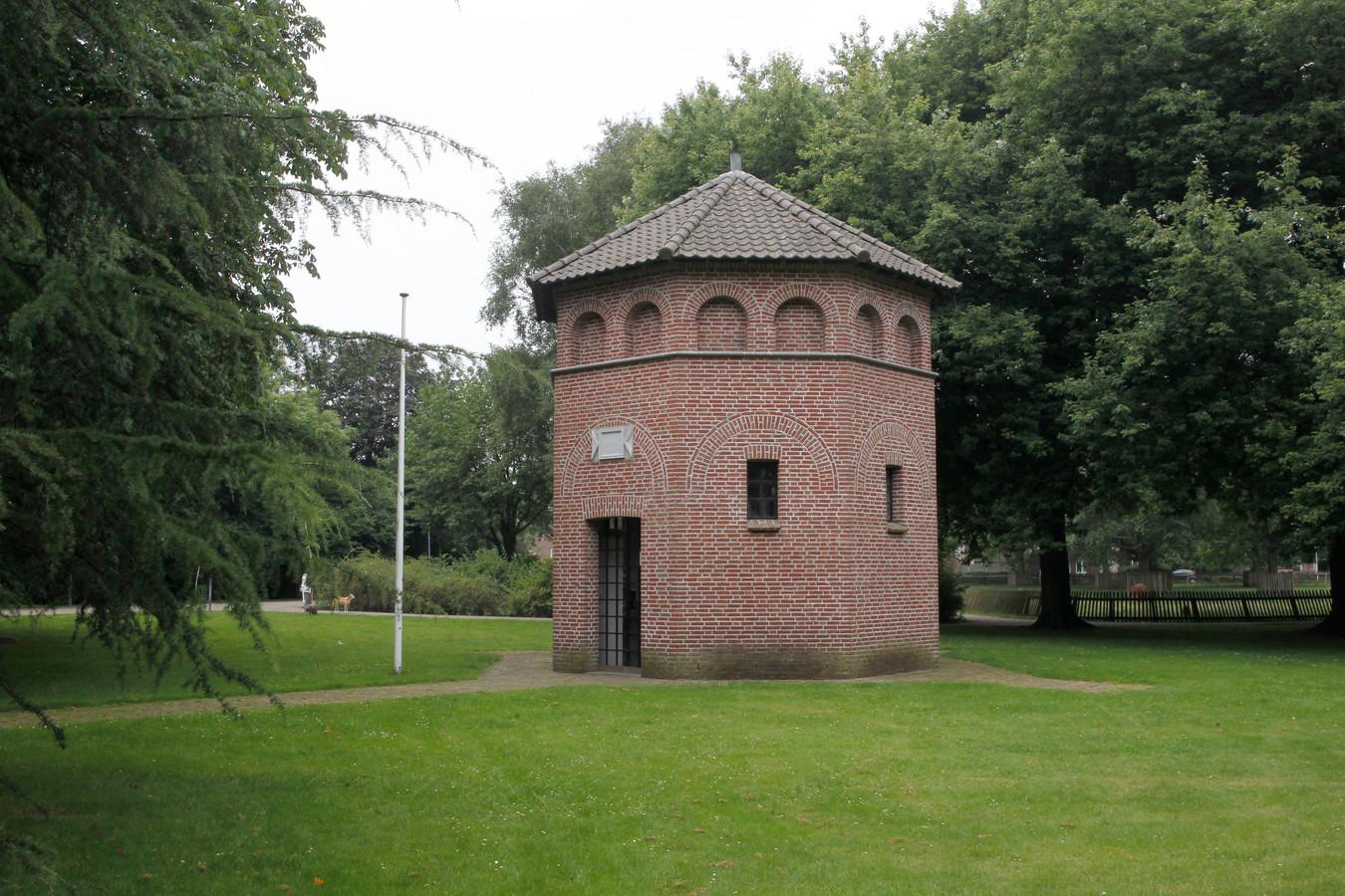 De St. Josef Gedachtenis Kapel in het Hortensiapark.