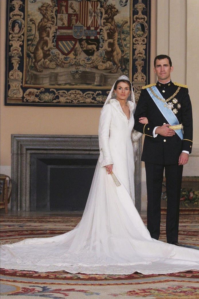 Prins Felipe en Laetizia Ortiz Rocasolano