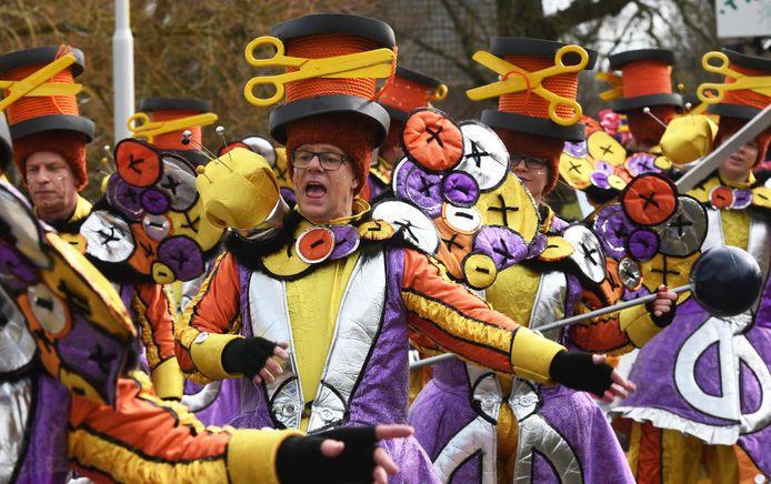 Carnaval in Horssen in 2019.