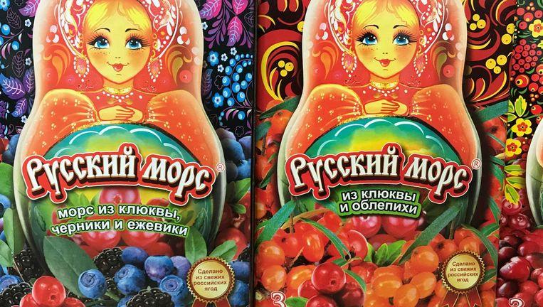 Bessensappen uit Rusland Beeld Corrie Gerritsma