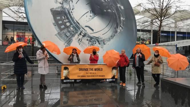 """""""Lockdown zorgt voor extra spanningen en partnergeweld"""": Zonta en Soroptimist brengen oranje in straatbeeld als verzet tegen geweld op vrouwen"""
