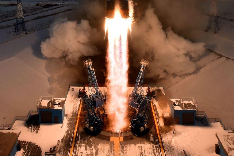Negentien satellieten, waaronder een Russische weersatelliet, gingen verloren.