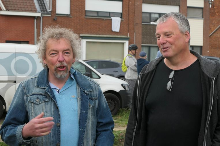 Toekomstig cafébazen Peter Delafortrie (links) en Philip Eeckelaerts (rechts)